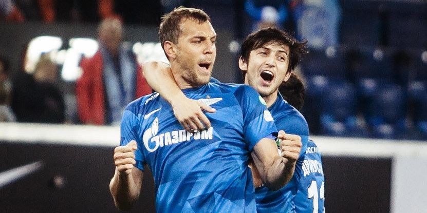 Два голеадора лучше одного. Дзюба и Азмун — в топ-50 лучших связок Европы