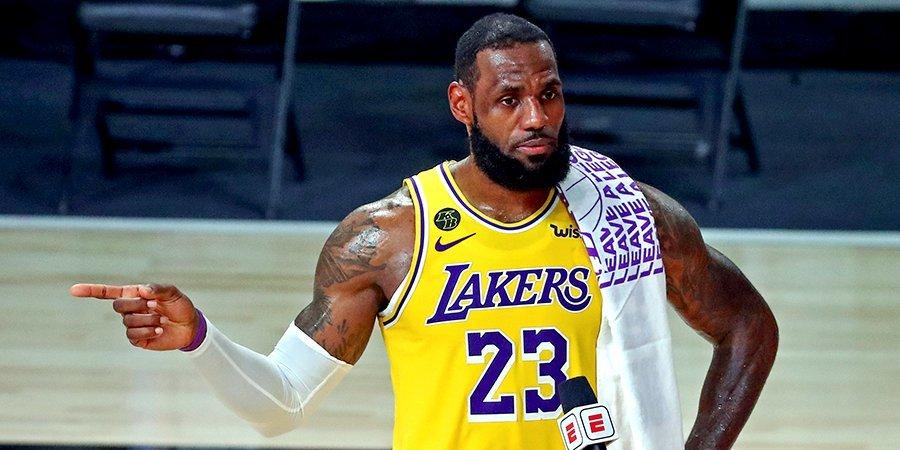 Леброн Джеймс – о победе в финале НБА: «Я обещал «Лейкерс» вернуть их туда, где они должны быть»