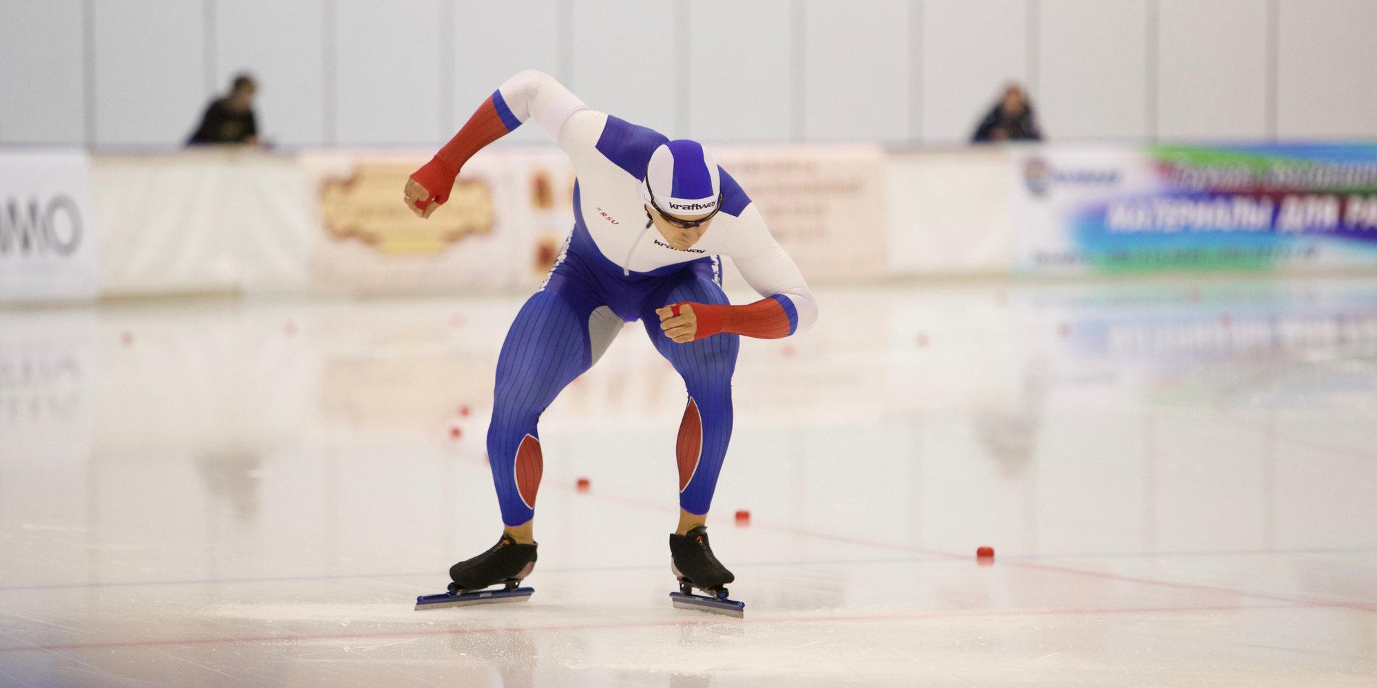 Конькобежец Юсков надистанции 1500 метров установил мировой рекорд