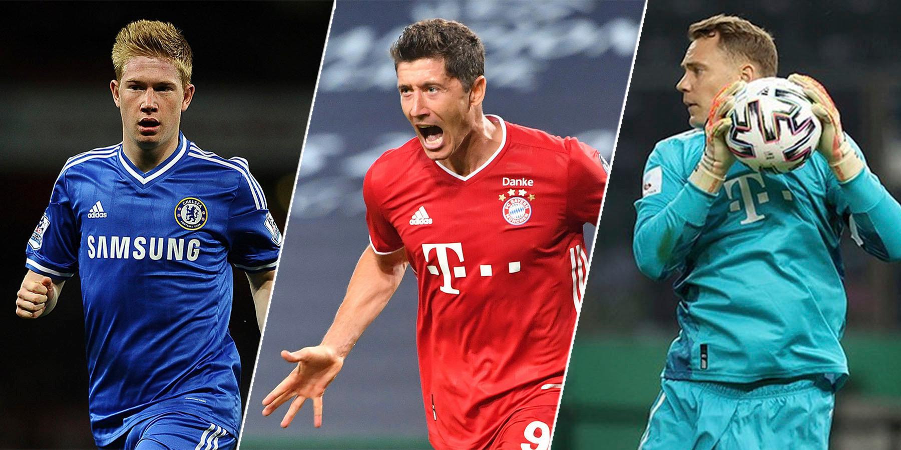 Впервые без Месси и Роналду. Кто станет лучшим игроком сезона в Европе?