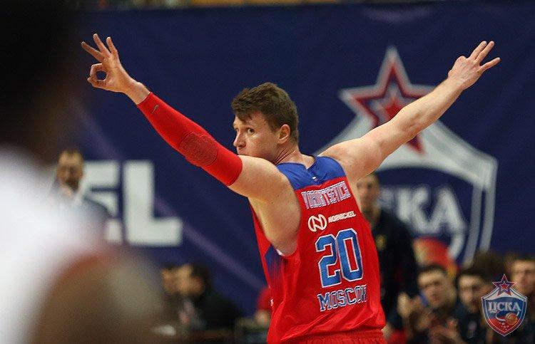 26 очков ДеКоло помогли ЦСКА обыграть «Бамберг»