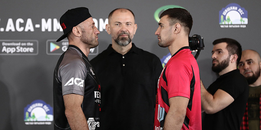 Кошкин нокаутировал Бутенко в главном бою на турнире ACA 123