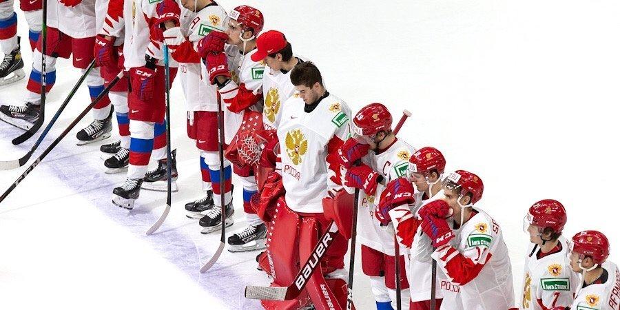 Сборная России с разгромным счетом проиграла Канаде в полуфинале МЧМ
