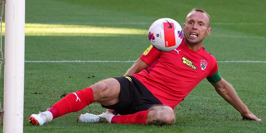 Глушаков признан лучшим игроком матча «Химки» — «Нижний Новгород»