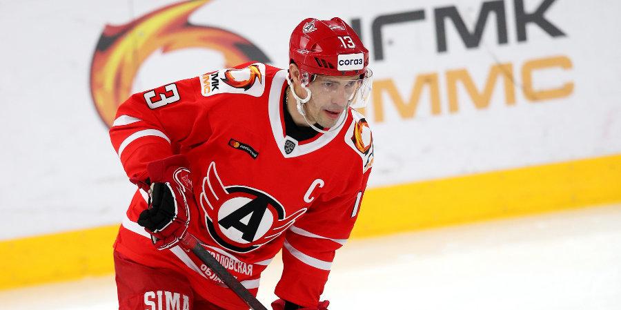 Дацюк признан лучшим игроком дня в КХЛ