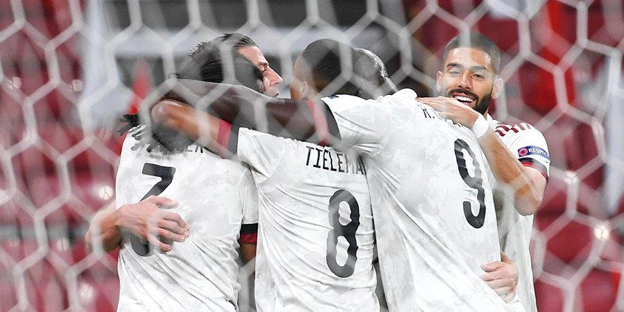 На классе! Бельгийцы обыграли датчан без своего основного голкипера, лучшего плеймейкера мира и капитана