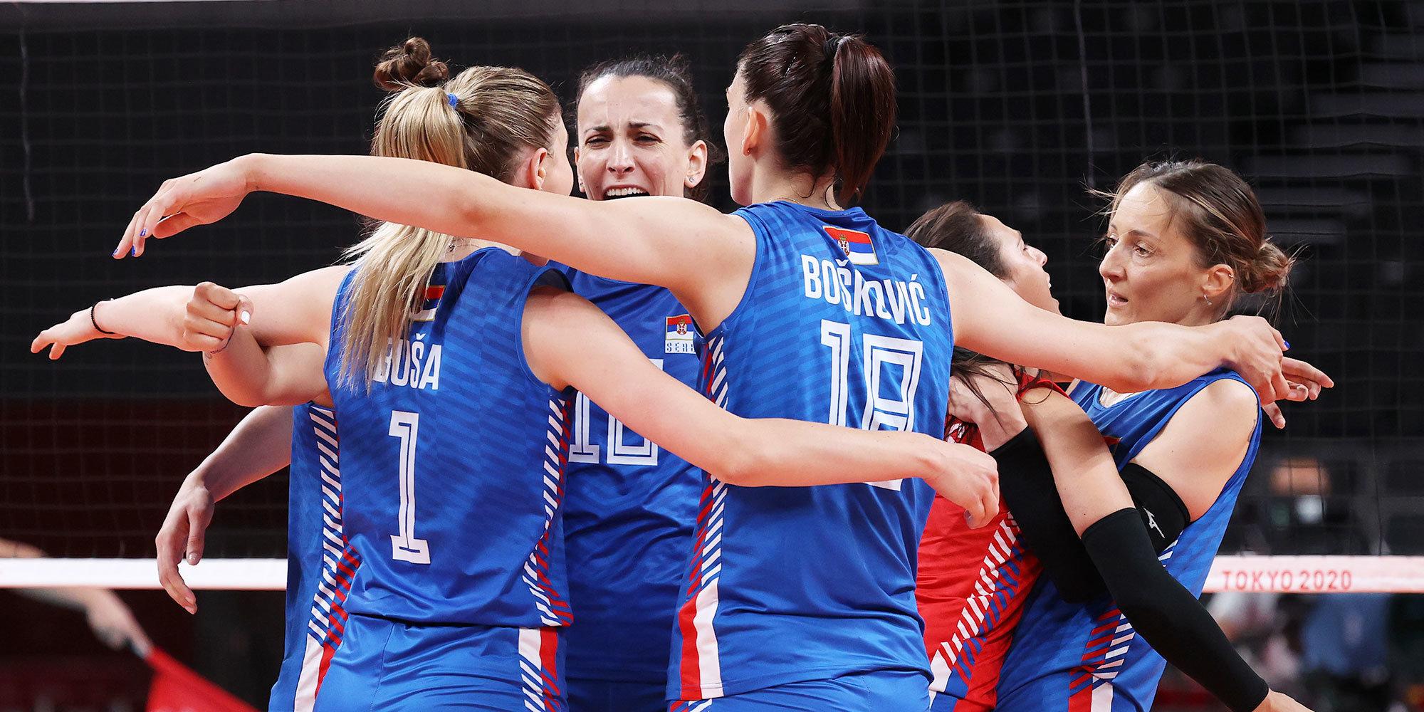 Сербские волейболистки стали последними полуфиналистками чемпионата Европы