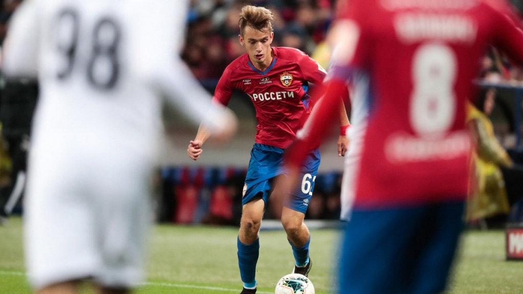 ЦСКА выходит на европейский уровень. 17-летний Карпов — подтверждение