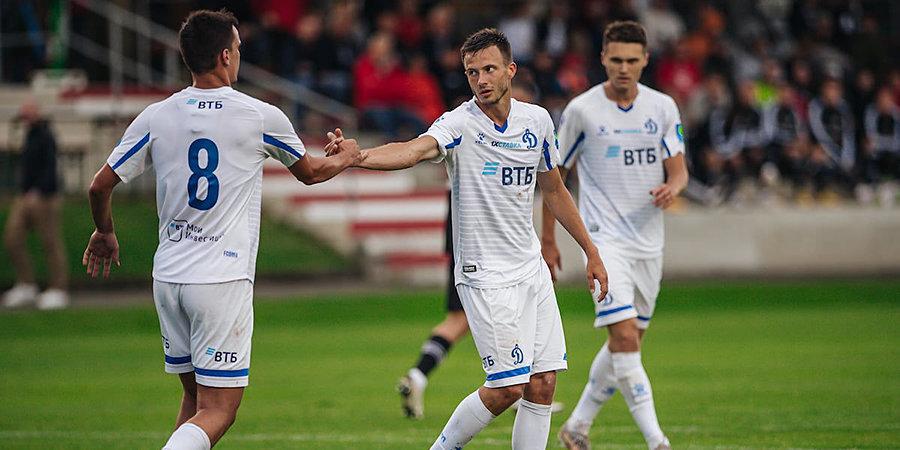 «Динамо» проиграло чешскому «Яблонцу» на сборе в Австрии