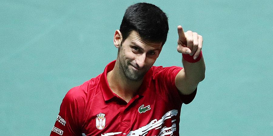 «Все еще плыву от количества веселья и поддержки». Джокович подвел итоги турнира в Белграде