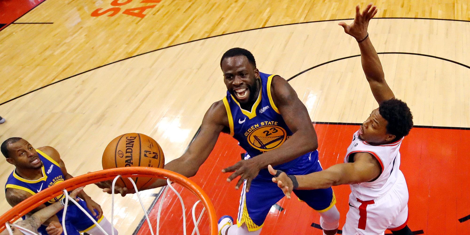 «Голден Стэйт» забрал второй матч у «Торонто» и сравнял счет в финале НБА