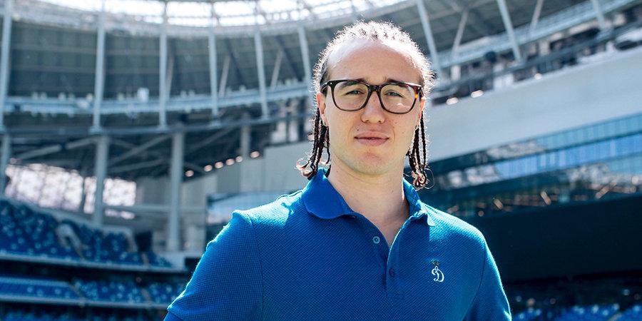 Лаксальт — лучший игрок матча «Динамо» — «Локомотив»