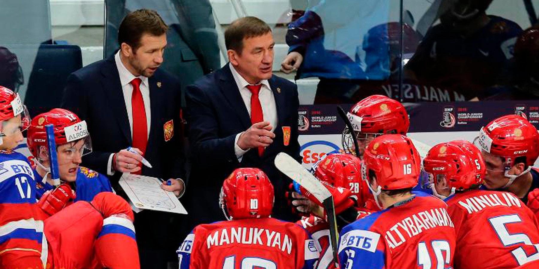 Молодежная сборная России обыграла сборную WHL в матче Суперсерии