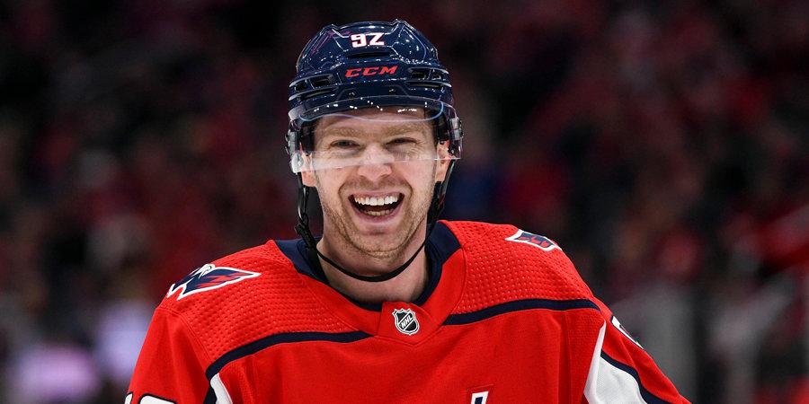 Хоккеисты проведут кибертурнир по NHL 20. За «Вашингтон» сыграет Кузнецов