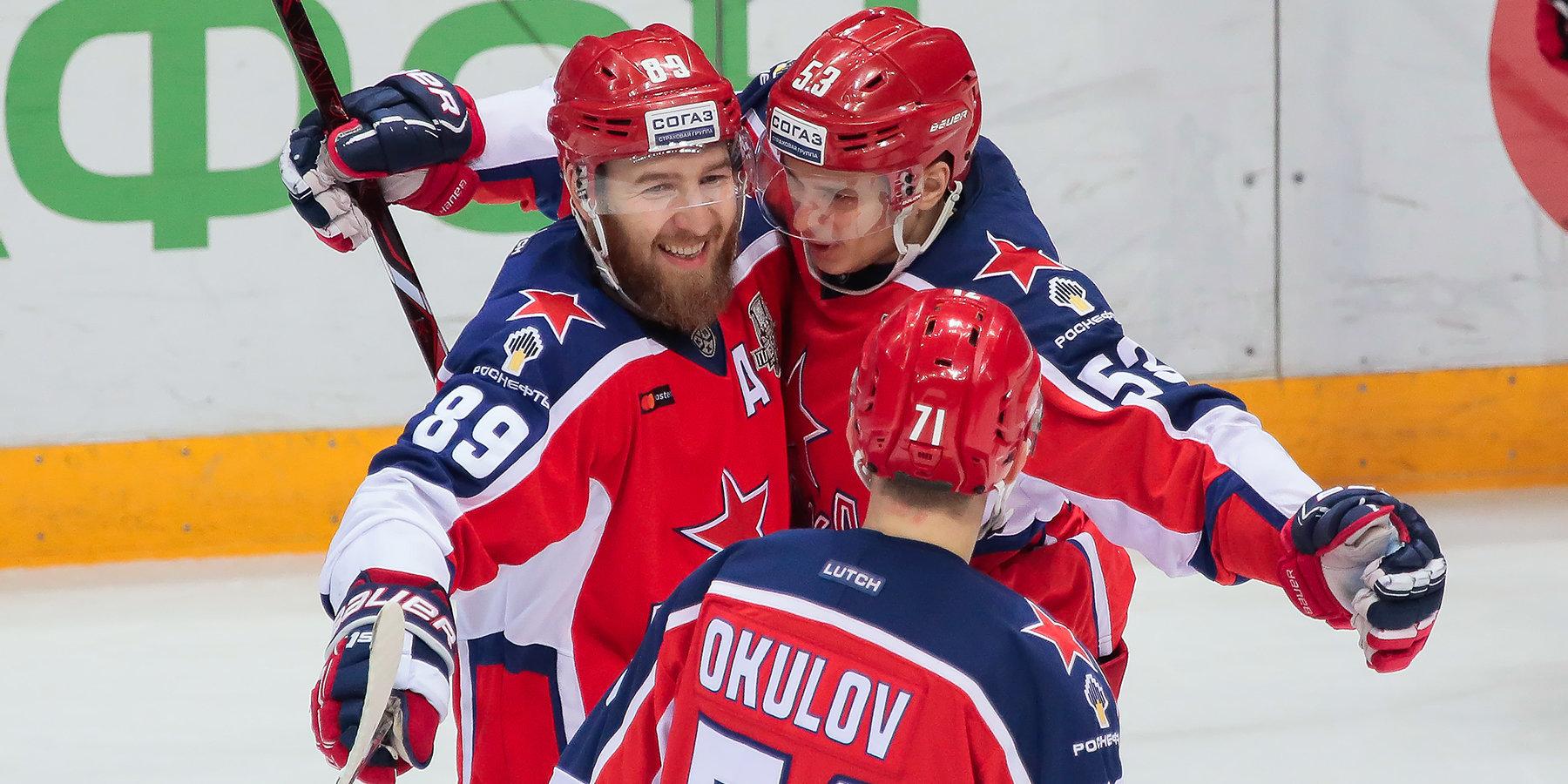 ЦСКА крупно обыграл «Динамо» в третьем матче серии