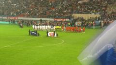 Фото Б. Пришепы с матча Россия-Бельгия
